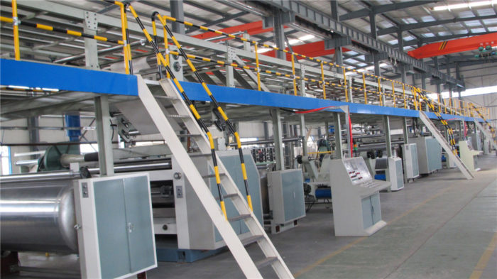 Corrugated Cardboard/Paperboard Production Line-WJ150-2000-Ⅰ3 Ply