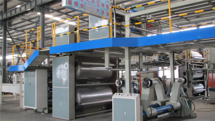 WJ200-2000-Ⅰ3 Ply Corrugated Cardboard Machine