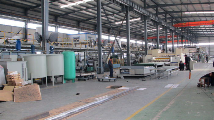 Corrugated Cardboard/Paperboard Production Line-WJ150-1600-Ⅱ 5 Ply