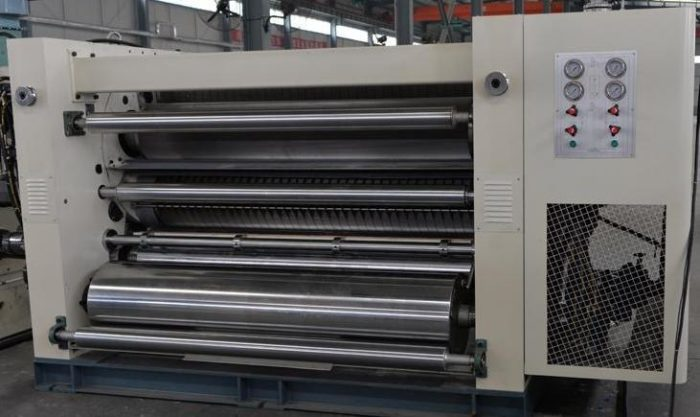 SDW1/SDW3 Double Corrugated Rollers Fast Change Single Facer