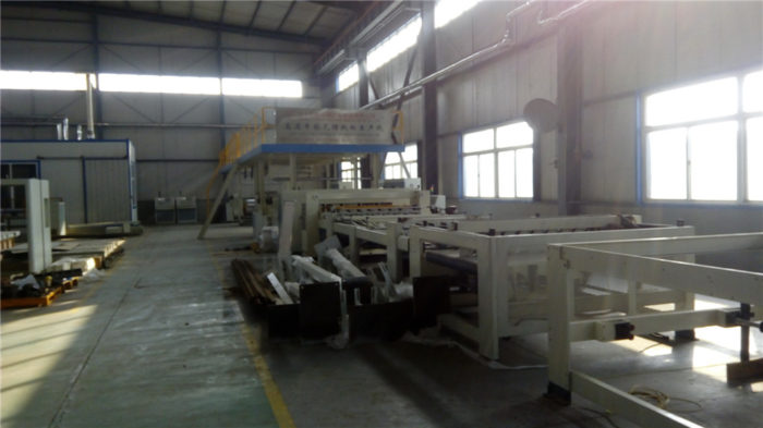 Single Face/2 Ply Corrugated Cardboard Production Line