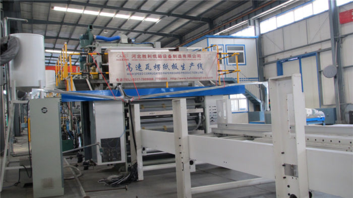 WJ200-1400-Ⅰ3 Ply Corrugated Cardboard Carton Making Machine