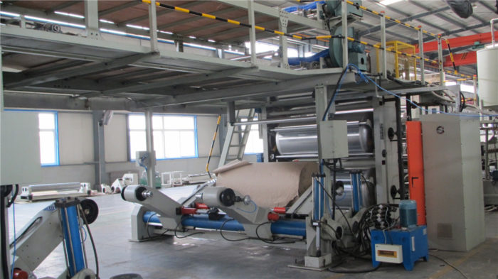 WJ180-2000-Ⅲ 7 Ply Corrugated Cardboard Production Line