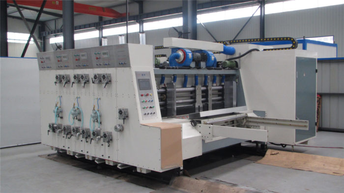 YKW1270x2500 Five Colors Printing Slotting Die Cutting Machine with Lead Edge Feeder