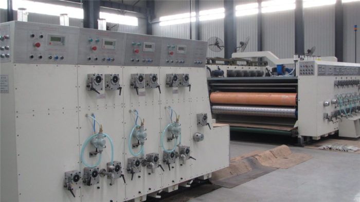 GYK1270*2200 High Speed Flexo Printing Machine for Corrugated Carton Box