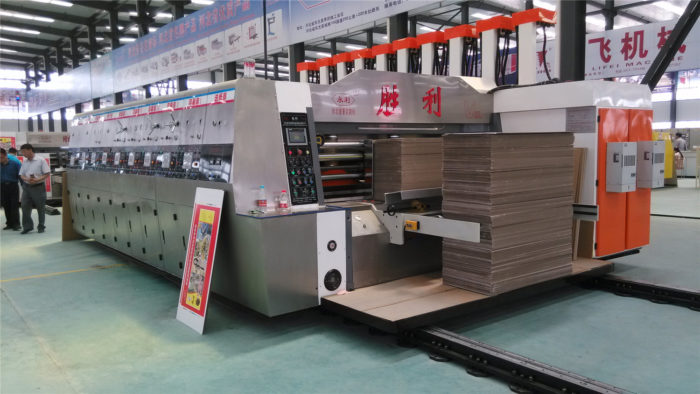 YKW-1224 High Speed Corrugated Carton Flexo Printing Machine