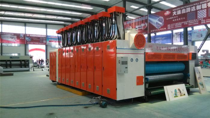 YKW-1228 High Speed Corrugated Carton Flexo Printing Machine