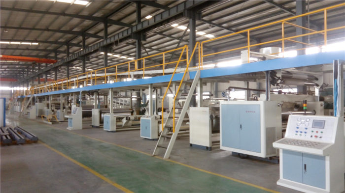 Corrugated Cardboard/Paperboard Production Line-WJ150-1800-Ⅲ 7 Ply