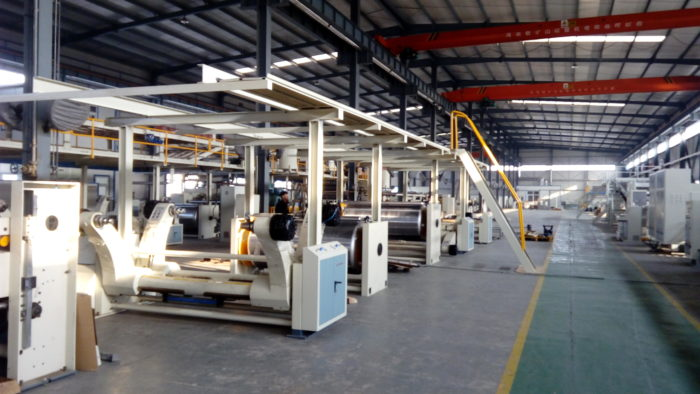 WJ260-2000-Ⅰ3 Ply Corrugated Carton Cardboard Production Line