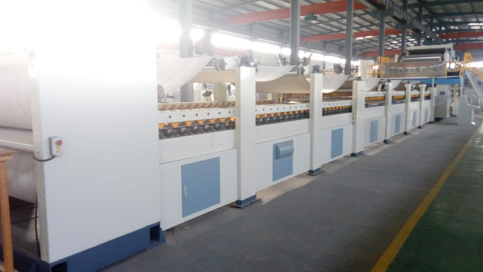 WJ260-2000-7 Ply Corrugated Carton Cardboard Production Line