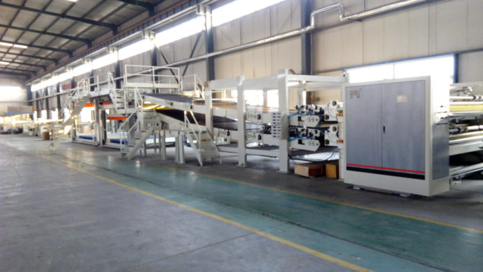 Corrugated Carton Box Making Machine-WJ200-1800-Ⅰ3 Ply