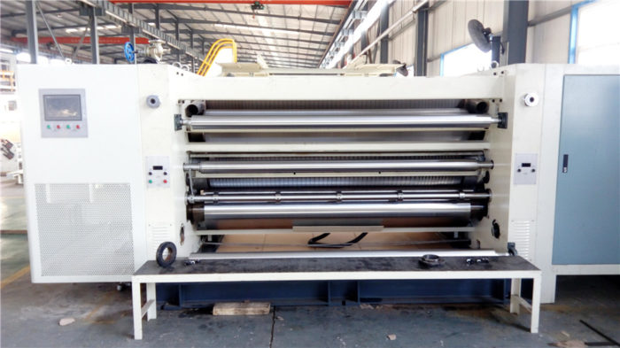 KSW Cassette Double Corrugated Rollers Fast Change Single Facer