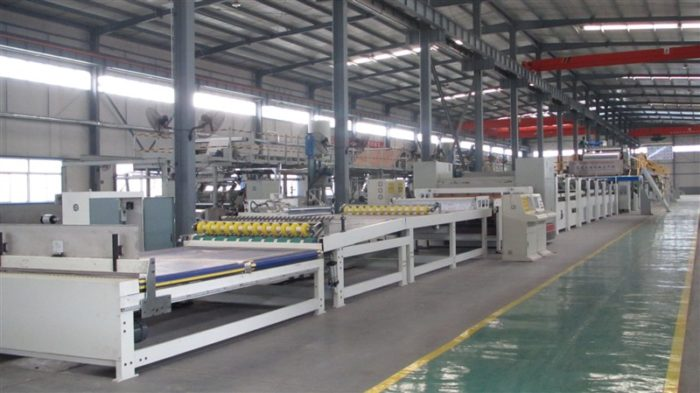 WJ260-2000 5 Ply Corrugated Carton Cardboard Production Line