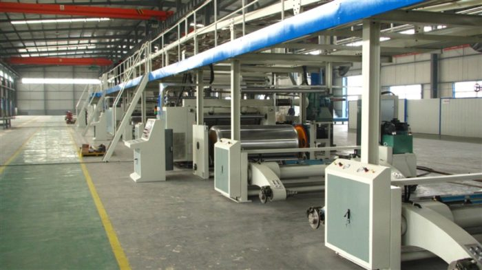 Corrugated Carton Box Making Machine-WJ200-1800-Ⅲ 7 Ply